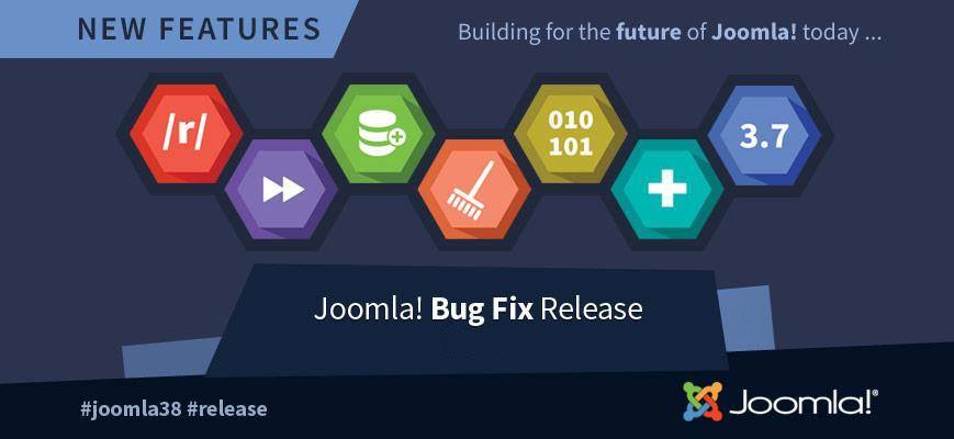 updates van Joomla voor veiligheid en nieuwe functies